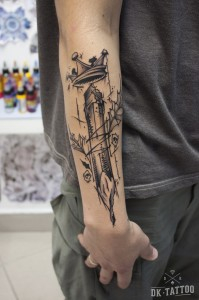 graphic tattoo pencil