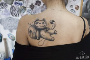 voodoo cat tattoo