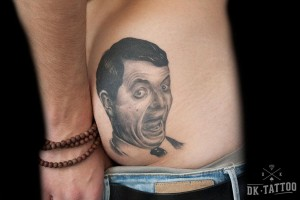mr.bean-tattoo