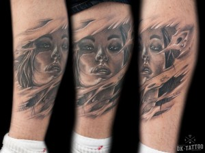 realistic-face-tattoo